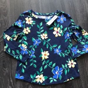 Old Navy NWT floral long sleeve top